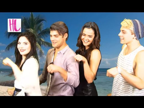 crushes - The Disney Channel's 'Teen Beach Movie' is finally here. Stars Ross Lynch, Maia Mitchell, Grace Phipps, and Garrett Clayton tell us which famous Disney movie...
