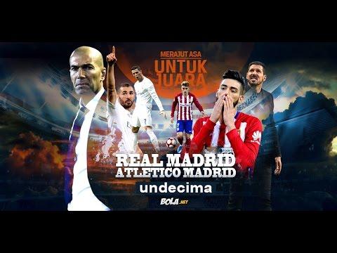 Real Madrid VS Atlentico Madrid Undecima
