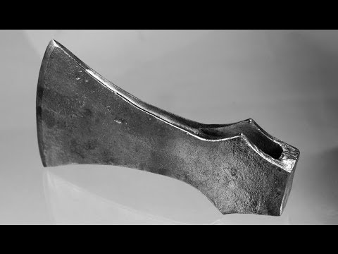 Hand-forged Wood Axe