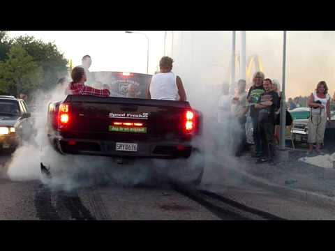 Dodge RAM Cummins Burn Out