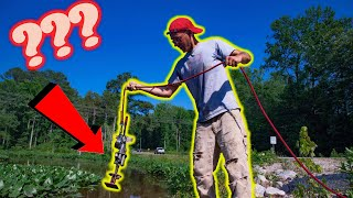 Video Magnet Fishing Roadside Creeks With Massive Double Sided Magnets! (What is that?!) MP3, 3GP, MP4, WEBM, AVI, FLV Agustus 2019