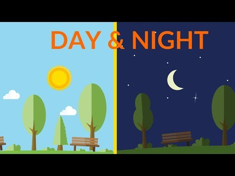 Day and Night || video for kids