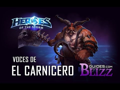 Heroes of the Storm - Voces de El Carnicero - Asesino Diablo