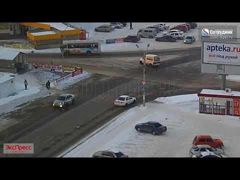 Авария с пешеходом в Бийске