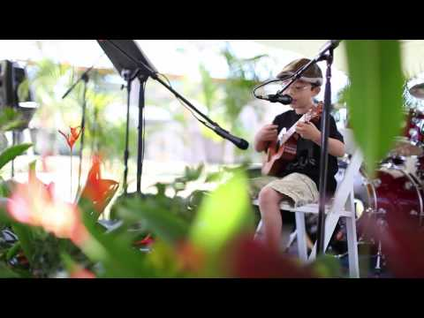 Hey Soul Sister – Train ukulele cover by Aiden Laprete Powell (8 years old)