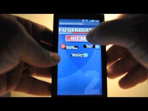 Video of FU Generator
