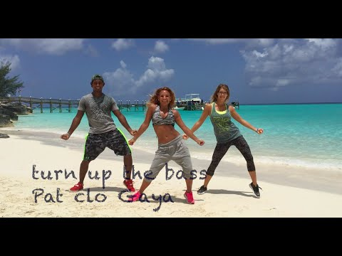 Choreo Turn up the bass by Clotilde  Zumba® song