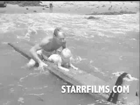 Surfing Stunts 1949