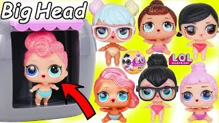 Video LOL Surprise Dolls + Lil Sisters Mix Wrong Big Heads and Pets for Spice New Pearl Look MP3, 3GP, MP4, WEBM, AVI, FLV Januari 2019