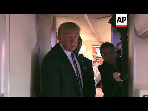 Trump Breaks Silence on Stormy Daniels