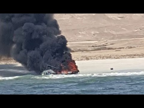 Jassem Al Bathari rescued nine people from the sea off the coast of Al Shuwaymiyah.