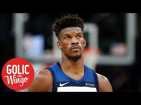 Jimmy Butler's outburst at Timberwolves practice was a 'setup' - Mike Golic | Golic and Wingo
