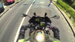 7. Honda Deauville 700 test, Honda NT700V, Trip from Budakeszi to Budapest