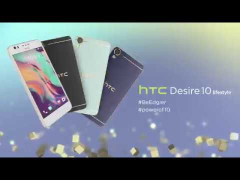New HTC Desire 10 lifestyle Be Edgier (видео)