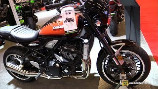 10. 2019 Kawasaki Z900 RS Accessorized - Walkaround - 2019 Montreal Motorcycle Show