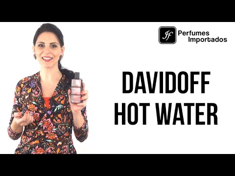 Perfume Davidoff Hot Water Masculino - Eau de Toilette