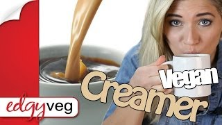 How to Make Vegan Coffee Creamer Dairy-free | Edgy Veg