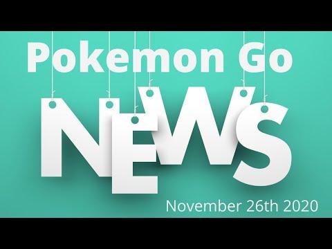 PoGo News: November 26th 2020. New research breakthrough, raisbosses and spotlight hours announced