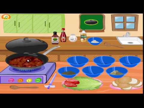 Cooking Games For Girls | Sloppy Joes Burger