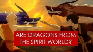 Video Are Dragons from the Spirit World? [ Avatar The Last Airbender l Legend of Korra ] MP3, 3GP, MP4, WEBM, AVI, FLV Oktober 2018