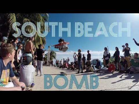 longboard freestyle: la gara di south beach!