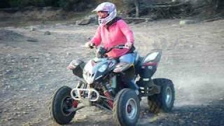 9. Girl Driving Polaris Predator 500
