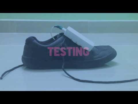 The Piezoelectric Shoe Insole