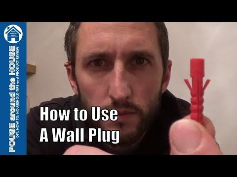 How To Use Wall Plugs. Wall Plug Tips And Drilling Tips.