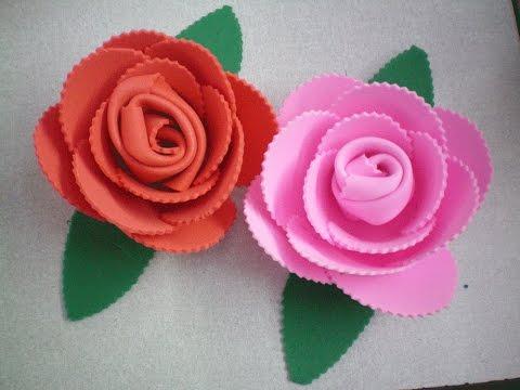 Flores sem usar cola