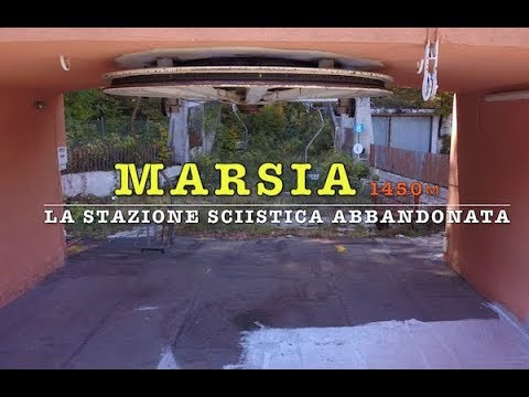 Marsia(4K) la stazione sciistica abbandonata (Tagliacozzo)da drone