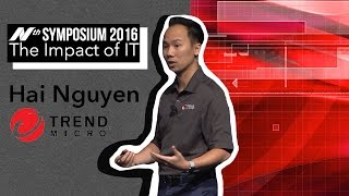 Nth Symposium 2016: Trend Micro Technical Advisor Hai Nguyen video