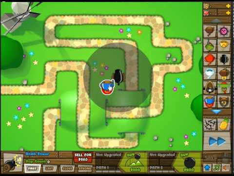 Bloons Tower Defense 5 Temple of the Monkey God's Ability