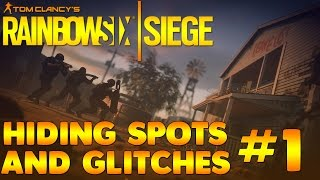 Showing you some hiding spots/glitches on Rainbow Six Siege! Maps I've shown the spots on are: Consulate, Bank and Clubhouse, If you enjoyed the video please leave a like!► Subscribe for more: http://bit.ly/2aGVfde► Music: Ehrling - This is my passionCredit: TheDangleberries (https://www.youtube.com/user/HuntThemDownPS3) for some of the spots!*Not everyone of these video's will have a glitch, some will just have hiding spots*Rainbow six siege, rainbow six, siege, six siege, rainbow six siege hiding spots, rainbow six siege spots, siege hiding spots, siege spots.