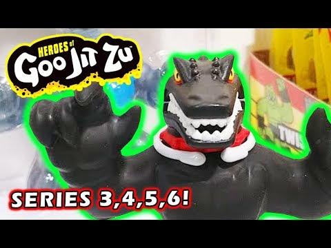 Heroes of Goo Jitzu Series 3,4,5,6 Dino Power, Minis & Marvel Moose toys