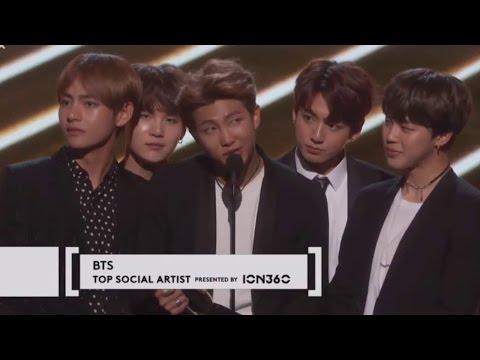 [PT-BR] BTS Ganha o Prêmio de Top Social Artist no Billboard Music Awards 2017