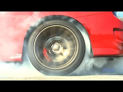 Dodge Looks Back At 2014 With Burnouts