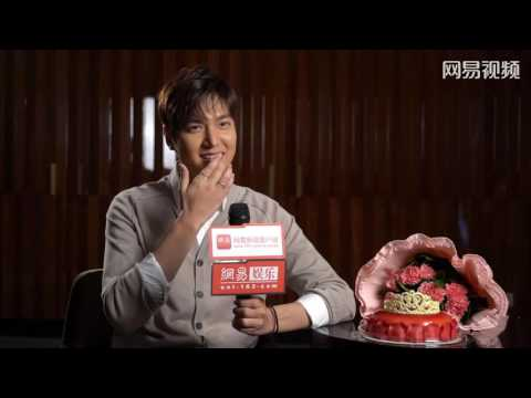 """Lee Min Ho - """"Bounty Hunters"""" Chinese Media Interview - 04.07.2016"""