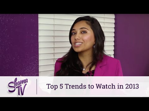 Shama.TV: Top 5 Trends to Watch in 2013