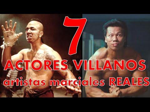 """Actores """"villanos"""" de peliculas que son expertos en artes marciales en la vida real - Thời lượng: 18 phút."""