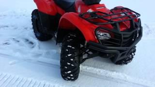 9. 2012 Honda Rancher 420 ES- Maxxis Bighorn Tires 26'