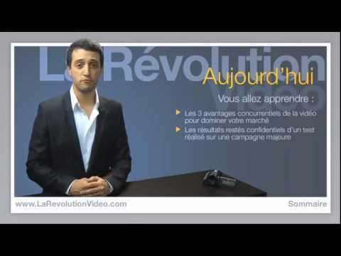 Video Revolution - http://www.larevolutionvideo.com/ David Jay, entrepreneur et spécialiste du marketing en vidéo, explique les enjeux majeurs du marketing web en 2011. Vous dé...