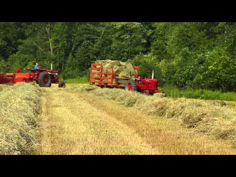 Baling Hay in PA