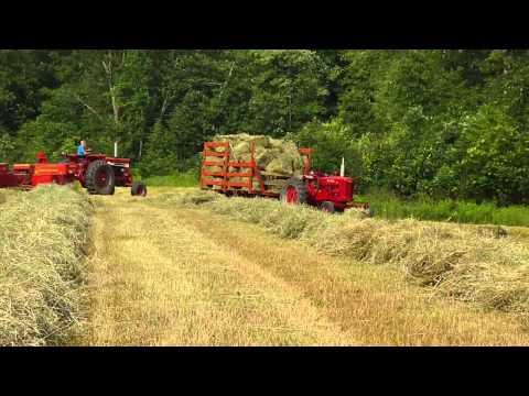 Baling Hay in PA