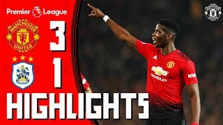 Download Video Highlights | Manchester United 3-1 Huddersfield Town | Premier League MP3 3GP MP4