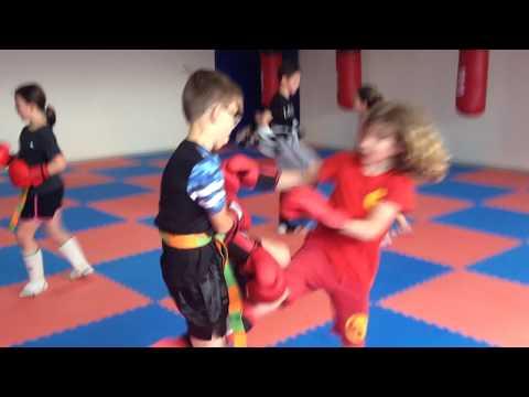 salle de kick boxing