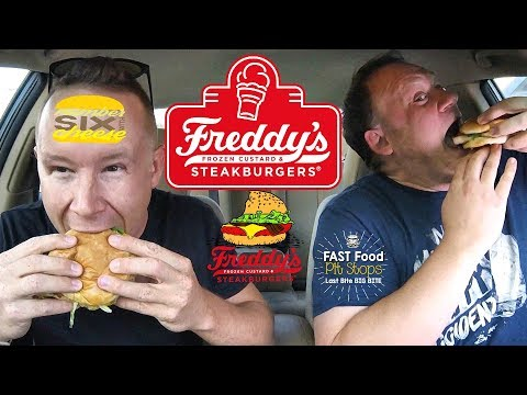 Freddy's ☆COLLAB w/Sean from NumberSixWithCheese☆ Food Review!!!