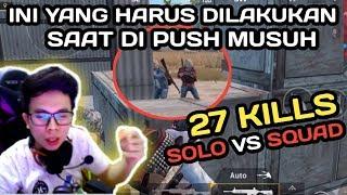 Video 27 KILLS ERANGLE !!! CARA MENGATASI POSISI KETIKA DI PUSH SQUAD MUSUH - PUBG MOBILE INDONESIA MP3, 3GP, MP4, WEBM, AVI, FLV Mei 2019
