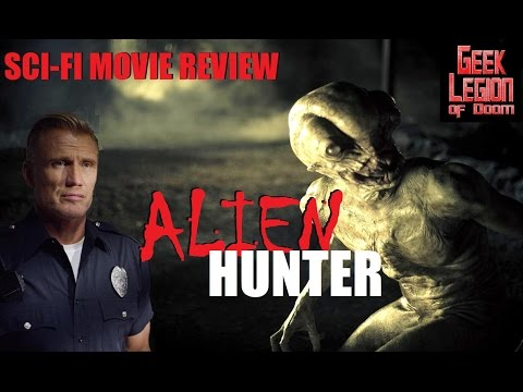 ALIEN HUNTER ( 2017 Dolph Lundgren ) Aka WELCOME TO WILLITS Sci-Fi Horror Movie Review