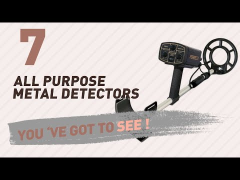 All Purpose Metal Detectors // New & Popular 2017