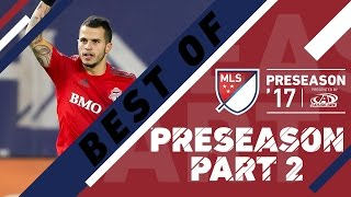 From Giovinco hitting bangers to Tommy Thompson getting cheeky, there were some sick goals this preseason. Check out the best from the second half of ...